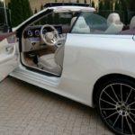 Mercedes Benz E class Cabrio