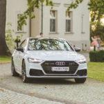Audi A7 2018 biały